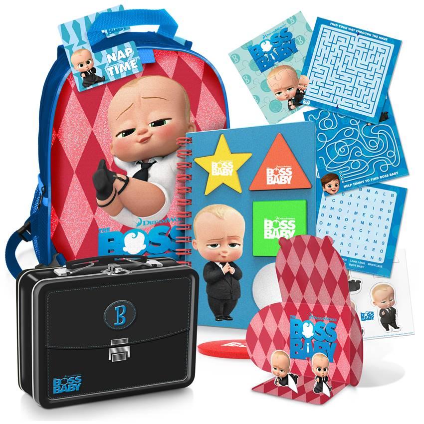 Win A Boss Baby Merch Pack