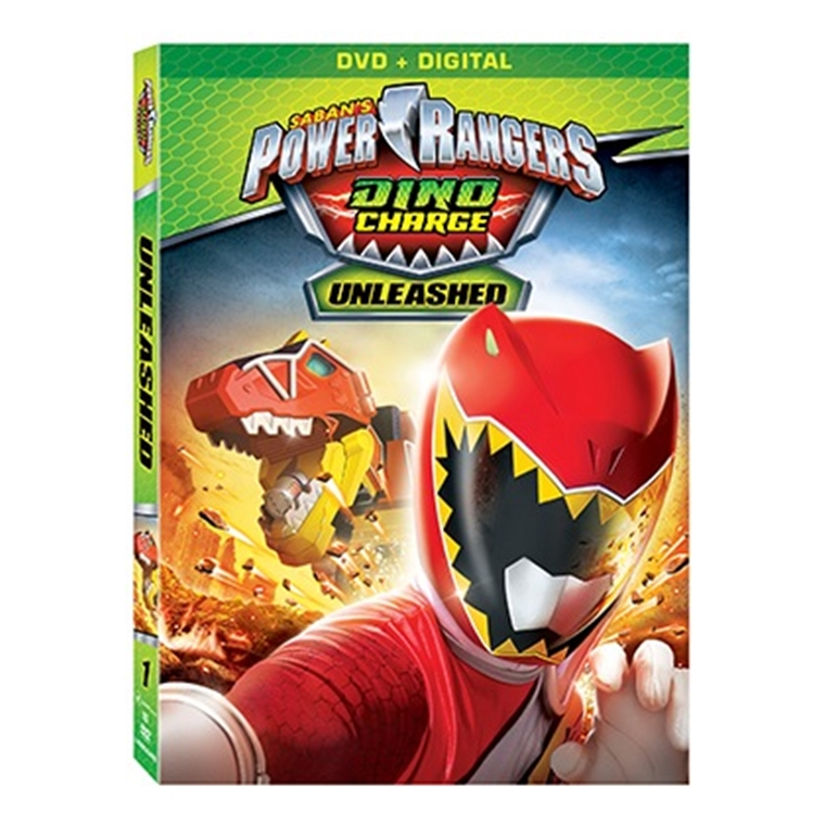 Win a Power Rangers Dino Charge DvD and Digital HD