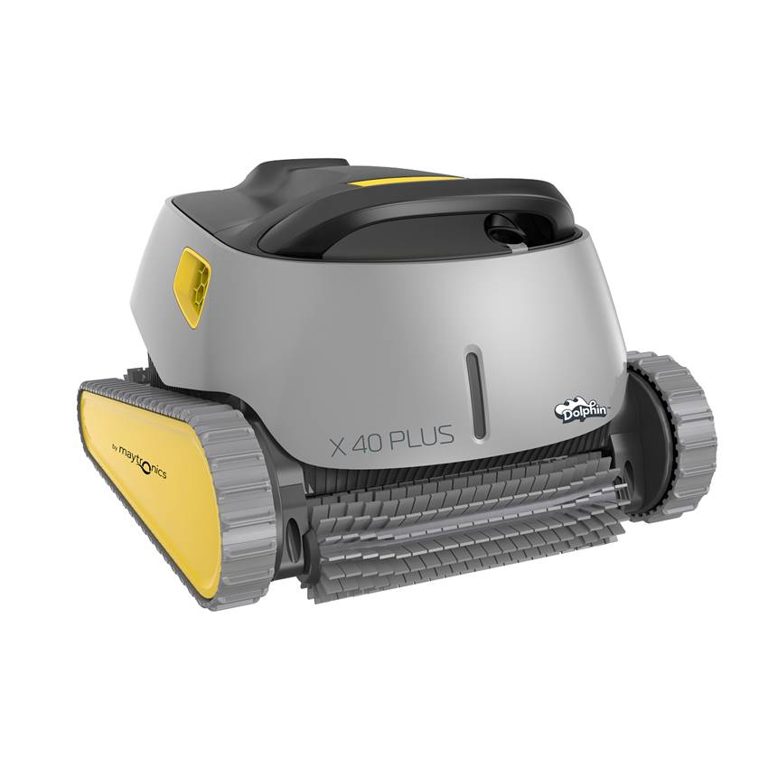 Win a Dolphin X40 Plus robotic pool cleaner
