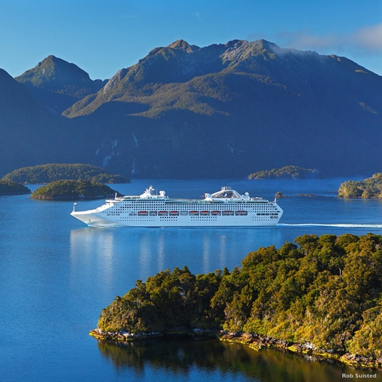 Win A Cruise To New Zealand!