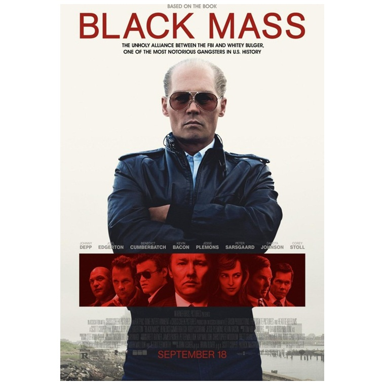 Win a Black Mass Blu-ray/DvD/Digital Combo