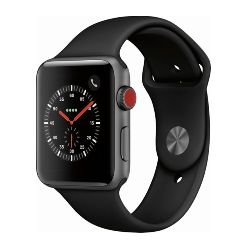 Win a New FREE Series 3 42mm Space Gray AI Black Sport (GPS + Cellular) Apple watch
