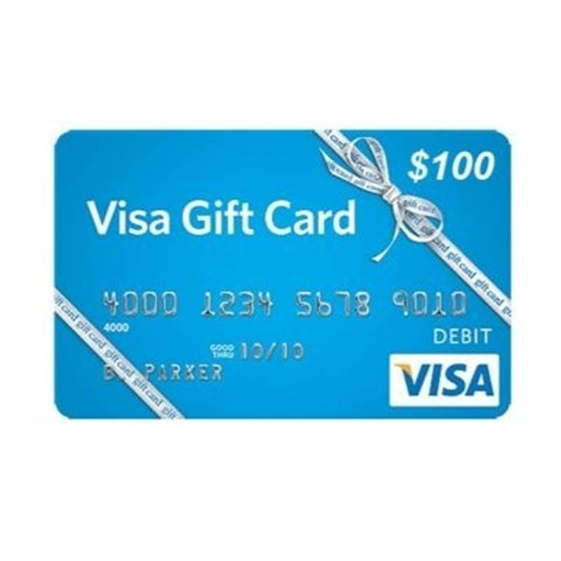 Win a VISA Gift Card.