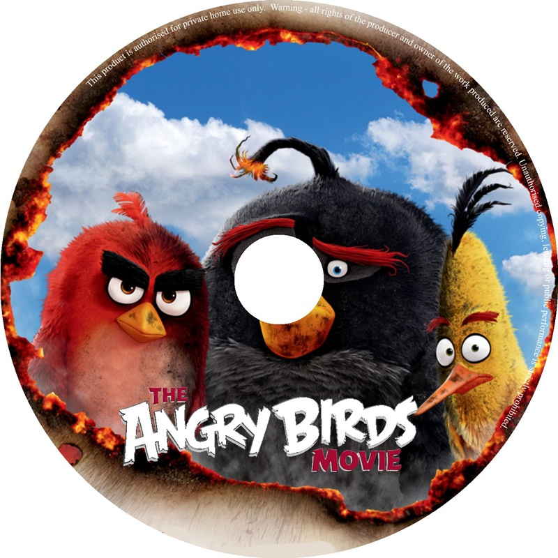 Win a The Angry Birds Movie DVD