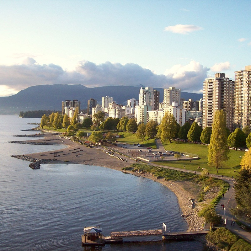 Win a Round trip to Vancouver, British Columbia, Canada