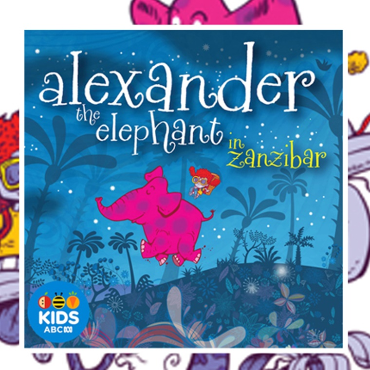 Win One Of Three Alexander The Elephant Book And Cd Packs