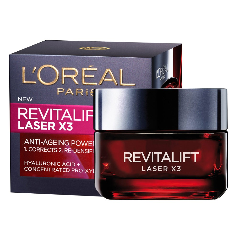 WIN one of six L'Oréal Paris Revitalift Laser X3 Day Creams