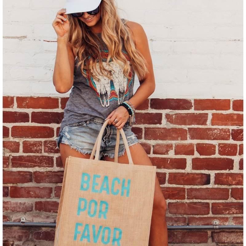 Win a Beach Por Favor tote