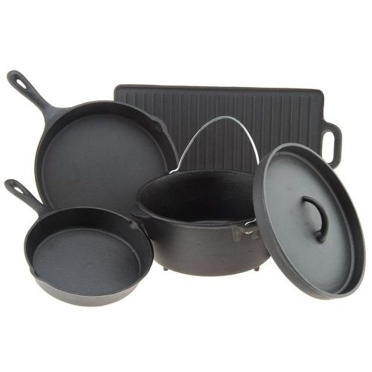 Win a Lodge 5-Piece Cast Iron Cookware Set