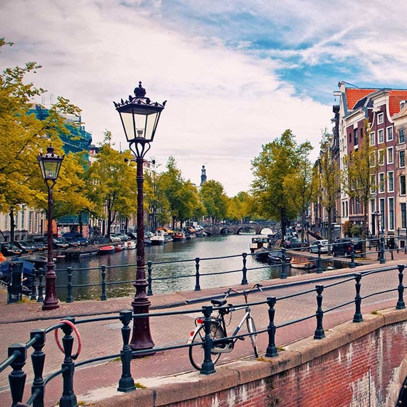 Win a Airfares to Amsterdam