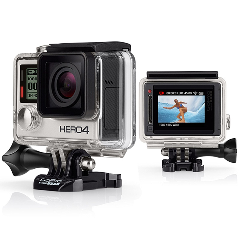 Win a GoPro HD Hero4 Action Video Camera, Silver Edition