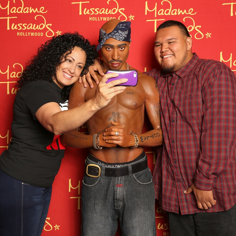 Win a Family passes to Madame Tussauds