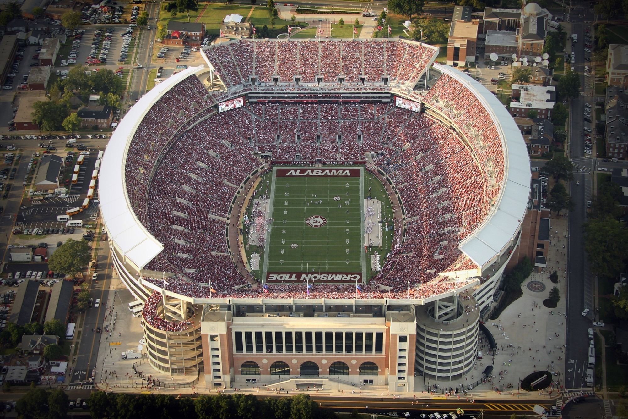 Image result for bryant denny stadium