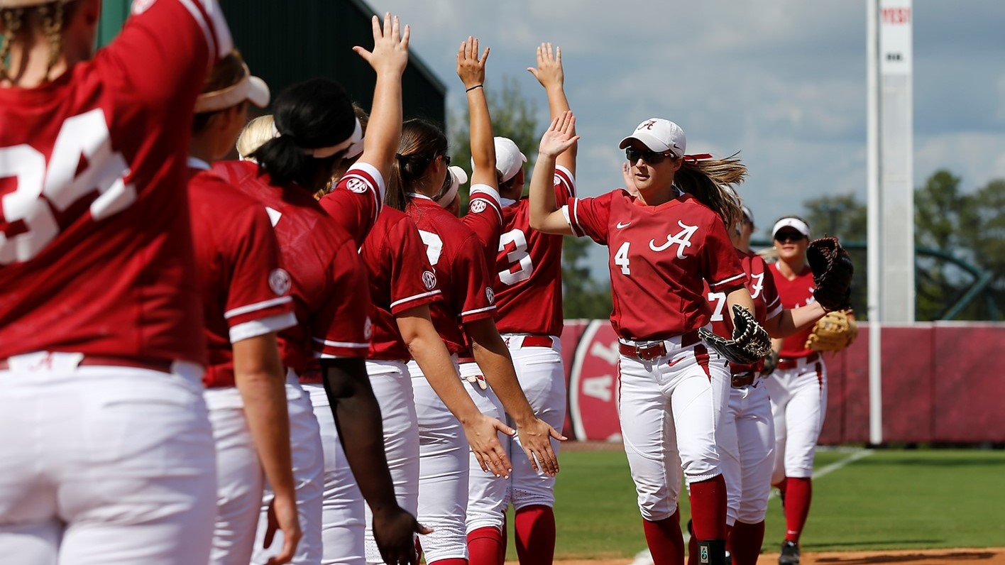 alabama softball ranked 10th and 11th in preseason national polls
