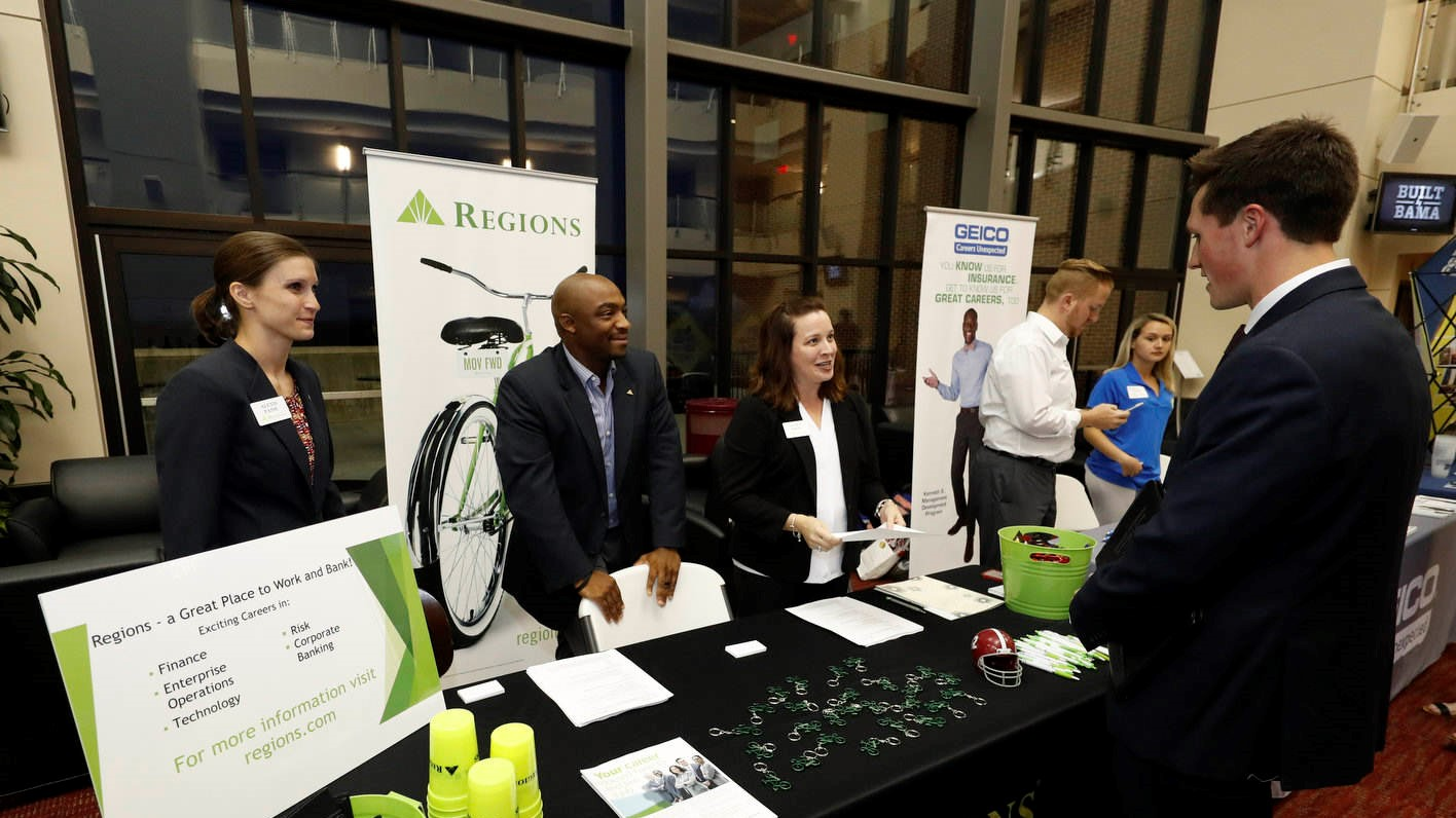 drive for success career fair brings a different side to recruiting