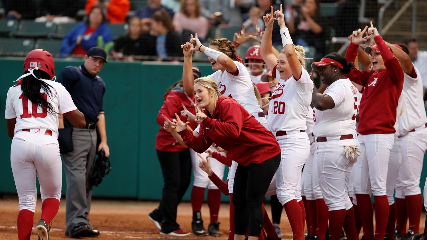 softball announces 2019 schedule - university of alabama athletics