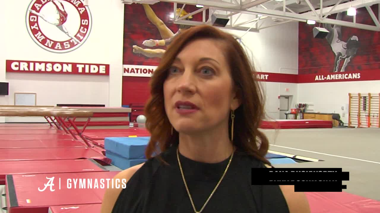 Coach Dana Duckworth, Jensie Givens and Wynter Childers Preview this Friday's Home Quad Meet
