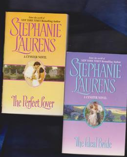Stephanie Laurens, Cynster 2 Book Set  (The Ideal Bride, The Perfect Lover) by Stephanie Laurens