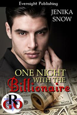 One Night with the Billionaire by Jenika Snow