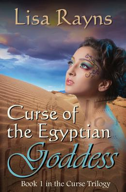 Curse of the Egyptian Goddess by Lisa Rayns