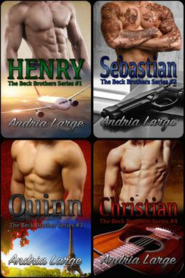The Beck Brothers Series by Andria Large, Megan Hershenson