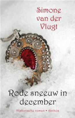 Rode sneeuw in december by Simone van der Vlugt