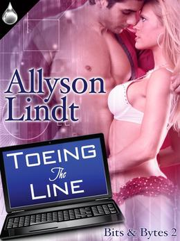 Toeing The Line by Allyson Lindt