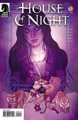 House of Night #5 by P.C. Cast, Kristin Cast, Kent Dalian, Joëlle Jones, Eric Canete, Ryan Hill