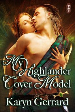 My Highlander Cover Model by Karyn Gerrard