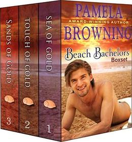 The Beach Bachelors Boxset  (Three Complete Contemporary Romance Novels in One)  (The Beach Bachelors Series) by Pamela Browning