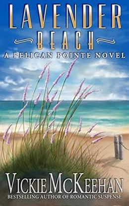 Lavender Beach by Vickie McKeehan