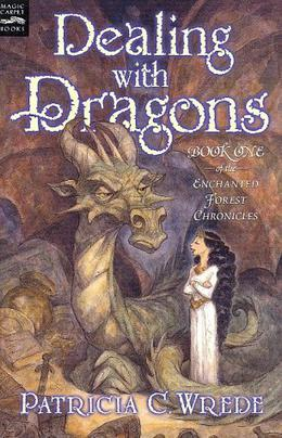 Dealing with Dragons by Patricia C. Wrede, Peter de Sève