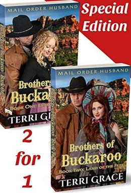 Mail Order Husband: Brothers of Buckaroo 2-in-1 Special Edition: Lead Us West & Land of the Free by Terri Grace, Pure Read