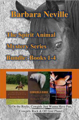 The Spirit Animal Mystery Series Bundle: Books 1-4 by Barbara Neville