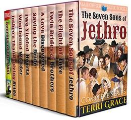 The Seven Sons of Jethro: Mail Order Bride Romance by Terri Grace, Pure Read