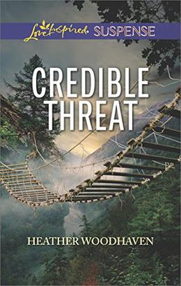 Credible Threat  (Love Inspired Suspense) by Heather Woodhaven