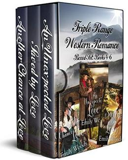 Triple Range Western Romance Boxed Set: Books 4 - 6 by Emily Woods