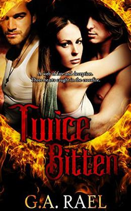 Twice Bitten: A Bisexual Vampire Romance by G.A. Rael