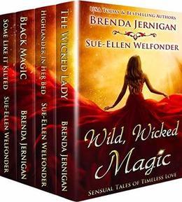 Wild, Wicked Magic: Sensual Tales of Timeless Love Box set by Brenda Jernigan, Sue-Ellen Welfonder, Allie Mackay