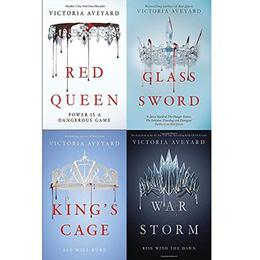 Red Queen 4-Book Collection: Books 1-4 by Victoria Aveyard, Birgit Schmitz