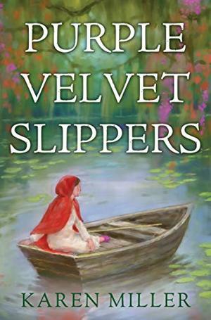 Purple Velvet Slippers by Karen Miller