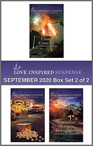 Harlequin Love Inspired Suspense September 2020 - Box Set 2 of 2 by Elizabeth Goddard, Karen Kirst, Stephanie M. Gammon