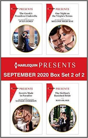 Harlequin Presents - September 2020 - Box Set 2 of 2 by Julia James, Natalie Anderson, Melanie Milburne, Maya Blake