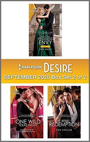 Harlequin Desire September 2020 - Box Set 2 of 2 by Joss Wood, Sara Orwig, Kira Sinclair