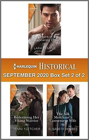 Harlequin Historical September 2020 - Box Set 2 of 2 by Lara Temple, Jenni Fletcher, Elisabeth Hobbes