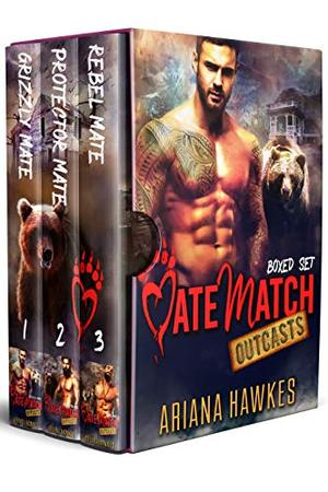MateMatch Outcasts: Boxed Set : Bear and Wolf Shifter Romances by Ariana Hawkes