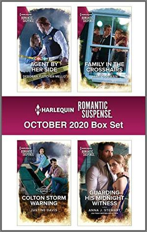 Harlequin Romantic Suspense October 2020 Box Set by Deborah Fletcher Mello, Justine Davis, Jane Godman, Anna J. Stewart