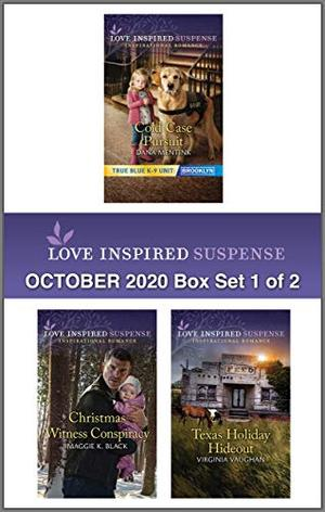 Harlequin Love Inspired Suspense October 2020 - Box Set 1 of 2 by Dana Mentink, Maggie K. Black, Virginia Vaughan