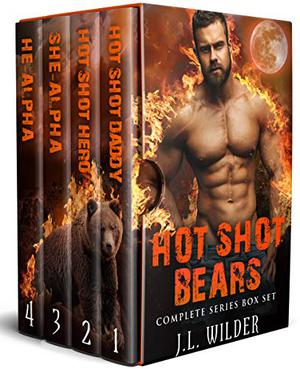 Hot Shot Bears: Complete Series Box Set by J.L. Wilder