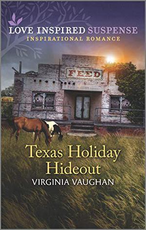 Texas Holiday Hideout (Cowboy Lawmen) by Virginia Vaughan